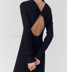 80% من الملابس الصوفية المكدحة والنيتارز؛ ثوب الحزب الطويل غير المكفوف للنساء