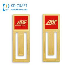 Hochwertige Personalisierte DIY Fashion Anime Cute Email Souvenir Notizbuch Lesezeichen Custom Logo Made Plain 24K Gold Plating Laser Cutting Round Metal Bookmark