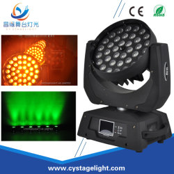 PRO DMX 4 in-1 RGBW 36X10 Zoom Wash LED Moving Head Stage Lighting