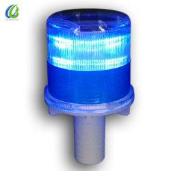 태양광 동력 도로 안전 장벽 작업 LED가 깜박입니다