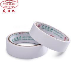 Usine de la vente directe de la Papeterie Strong Ruban adhésif double face avec le transporteur de tissus ou de mousse ou un animal de compagnie ou BOPP