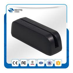 3 Spur USB-Minidoppelgesichts-magnetischer Streifen-Kartenleser Hcc780