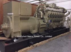 1000KW 1250kVA Puissance continue générateur de gaz naturel l'usine de biogaz