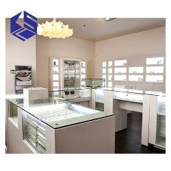 preço de fábrica de jóias Contador de exibição personalizados Showcase expositores decoração de interiores de design de gabinete