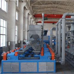 Resíduos de trituração dos pneus e borracha máquina trituradora da fábrica de pneus de resíduos Britagem