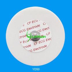 50мм за круглым столом для взрослых одноразовые электроды ЭКГ из пеноматериала