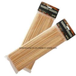 Natürliche BBQ-Bambus-Aufsteckspindeln