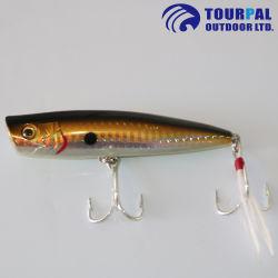 Matériau ABS leurre de pêche dur Popper pour la pêche en mer & Lake Fishing