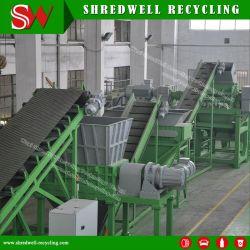Le bois d'écaillage de la machinerie pour le recyclage des déchets de bois
