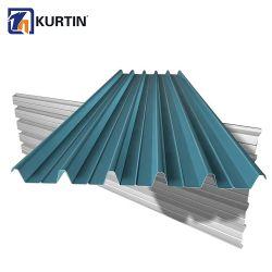 La plaque du rouleau galvanisé froide Gi Plaques ondulées les plaques de métal de toit de tôle en acier Roofing