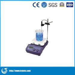 Индикатор цифровой 7 дюйма магнитных нагреваемую пластину Stirrer-Digital магнитных нагреваемую пластину