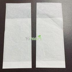 Wegwerfstützblech-Unterseiten-Kaffee-Filtertüten, mit vorderem kurzem und rückseitigem langem Beleg-Entwurf, passen Größe an