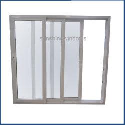سعر المصنع حجم مخصص زجاج زجاج زجاج زجاج زجاج زجاج UPVC مع زجاج مزدوج