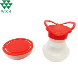 L'étain peut couvrir de plastique en plastique pour la Buse de déflecteur de buse flexible en plastique du couvercle de l'huile chimique de l'étain peut comestibles