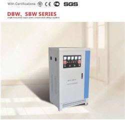 Dbw/SBW-50kVA 40Kw de puissance 380V Super trois phase pleine compensation automatique du régulateur de tension AC/stabiliser