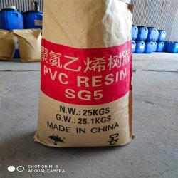 La SGS a approuvé le processus d'éthylène la résine de PVC SG5 K67 pour tuyaux en PVC/Films