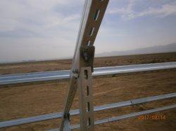 Солнечная панель кронштейн C канал профиль холодной Создана горячая DIP оцинкованной стали топливораспределительной рампе