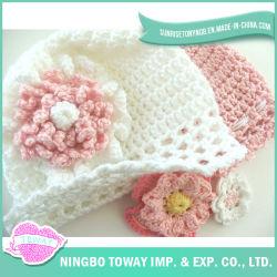 Chapéu de Confeção de Malhas do Crochet das Crianças de Kild do Beanie do Inverno