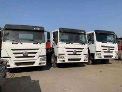 Utilisé HOWO camion tracteur 420HP 375HP 371HP 6X4 ROUES Sinotruk 10utilisé le tracteur tête avec des prix concurrentiels disponible