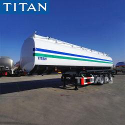 Titan 45, 000 litros de capacidad de remolque para transportar combustible gasolina/diesel