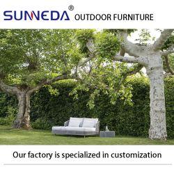 Restaurant Courtyard pelouse Salon moderne et confortable coussin de chaise longue vigne défini