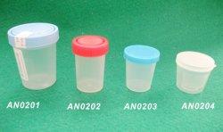 De beschikbare Container van de Urine van het Ziekenhuis 30ml/40ml/60ml/120ml van pp Materiële
