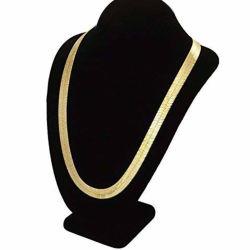 Collana Herringbone del calzino placcata oro del braccialetto Chain del serpente dei monili 18K degli accessori di modo
