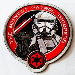 ユニフォームのEpaulettesの刺繍のバッジパッチ鉄で環境に優しいカリフォルニア州のフットボールの帽子またはコートのシュニールパッチの&Badge及び紋章