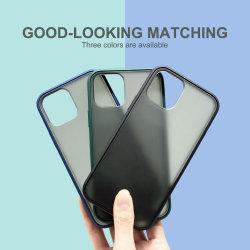 Защитная матовая ясно футляров Anti-Scratch жесткий назад тонкий чехол для iPhone 12 PRO 6.1