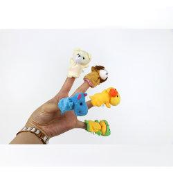 Animales de peluche personalizado Professional juguete infantil Títeres títeres de dedo