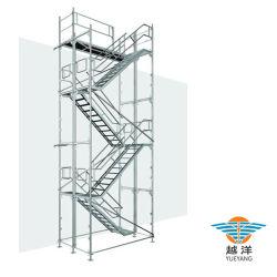 아연 도금 강철 외관 건설 플랫폼 사용을 위한 카폴딩 시스템