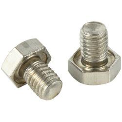 DIN931 DIN933 en acier inoxydable boulon hexagonal de la vis de fixation à tête hexagonale