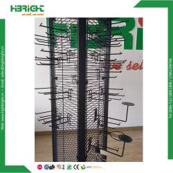 Rejilla de alambre negro metálico de pared Hanger Gancho Gridwall mostrar
