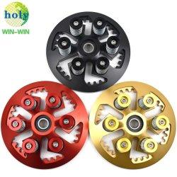 DRUCK-Platten-und Kupplungs-Korb CNC-maschinell bearbeitende Stahlbefestigungsteil-Hilfsmittel Qualität Soem-7075 Aluminiumfür Motorrad-Ersatzteile