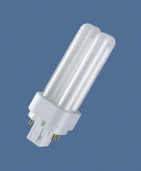 PL Lámpara fluorescente compacta (PLC/E)
