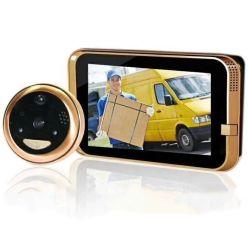 Accueil CCTV Smart Wecsee APP HI3518e Hisilicion RoHS Ios&Android soutien DVR avec vidéo sans fil Door Phone (400pab)