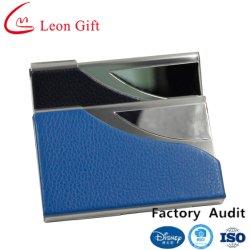 Supporto del biglietto da visita del metallo dell'incisione/cassa di scheda di alluminio di identificazione di affari del metallo di /Black della cassa di scheda di nome