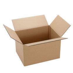 Одностенного коричневый Крафт коробки из гофрированного картона