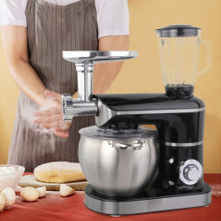 Mixer professionale da 8,5L con manico mixer da cucina elettrica Tritacaffè frullatore da cucina miscelatore per uova