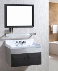 An der Wand befestigte Edelstahl-Badezimmer-Eitelkeit