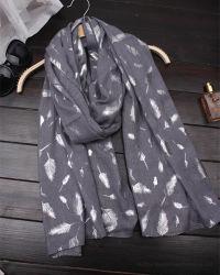 Bufanda de impresión de la lámina de Ladie muelle Ligero Envoltura chal hiyab