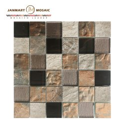 De Tegel van de steen voor de BuitenTegel Van uitstekende kwaliteit van het Mozaïek van het Mozaïek van Quadros van het Mozaïek van de Muur 3D voor Pijler die voor Muur verfraaien