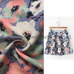 ポリエステルによって編まれるファブリック200d厚いリネン模造女性ジャケットのズボン