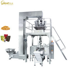 Candy Snacks를 위한 Pouch Package Bag Packaging Premade Vacuum Packing Machine 높은 쪽으로 자동적인 Solid Granule Food Stand