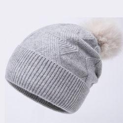Les femmes de la laine super chaud Hat hiver Hat Fashion Chapeau tricoté