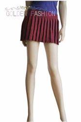 Knited mini falda de Lana Merino para dama (HGK6074)