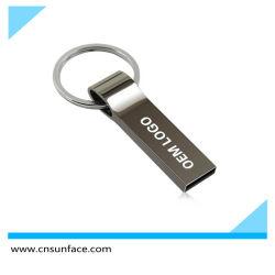 미니 메탈 16GB 펜 USB 플래시 드라이브 2.0 4GB 8GB 16GB USB 스틱은 사용자 지정 로고를 추가합니다