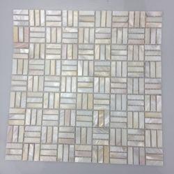 الصين مصنع سعر وايت شل Mosaic الأم البيضاء لبيرل لوحة فسيفساء للبيع