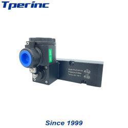 T6 de alta calidad a prueba de explosión Serie AC220V DC24V Ex-Proof Bobina magnética de acero inoxidable de la válvula de solenoide de latón