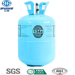 Disposable Cylinder로 Panasonic A/C Refrigerant R134A에 공급
